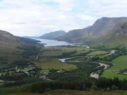 Kinlochewe and Loch Maree         Copyright: Tom Forrest 2005